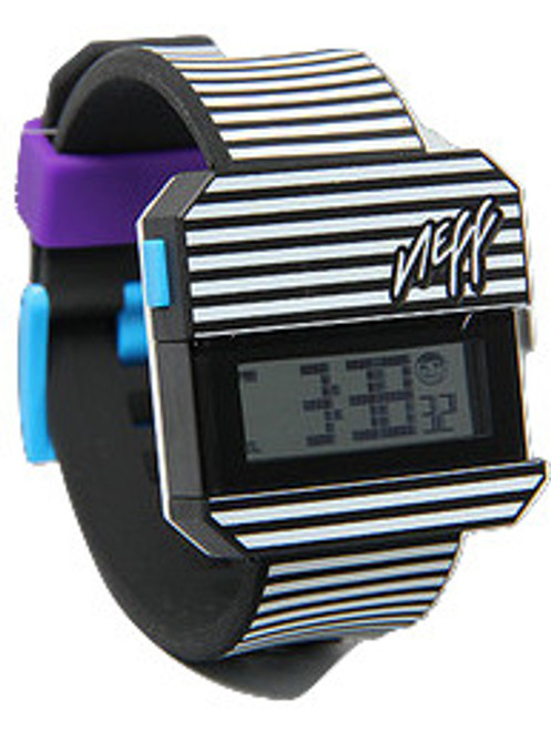 """Neff Digi Watch in Stripes"