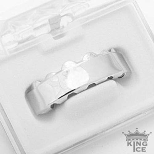 Silver Plated Solid Hip Hop Grillz