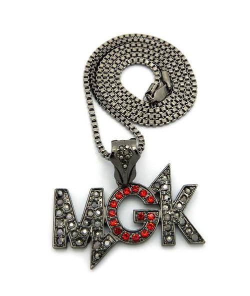 "MGK Machine Gun Pendant w/FREE 36""Chain"
