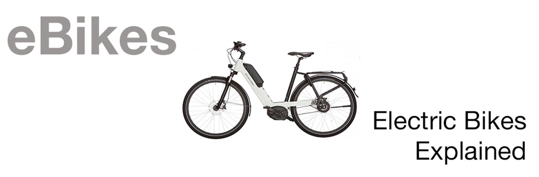 What is an e.Bike?
