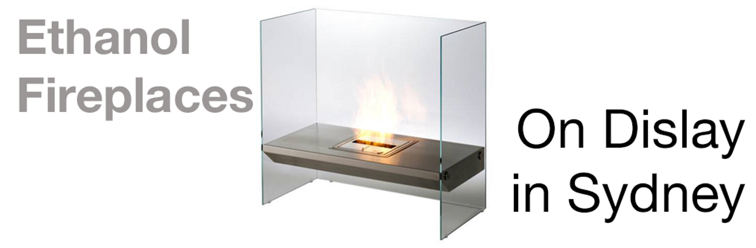 Ethanol Flueless Fireplaces on Display in Sydney