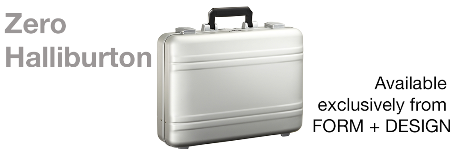 Zero Halliburton Aluminium Attachè and Luggage Available again in Australia Exclusively from FORM + DESIGN