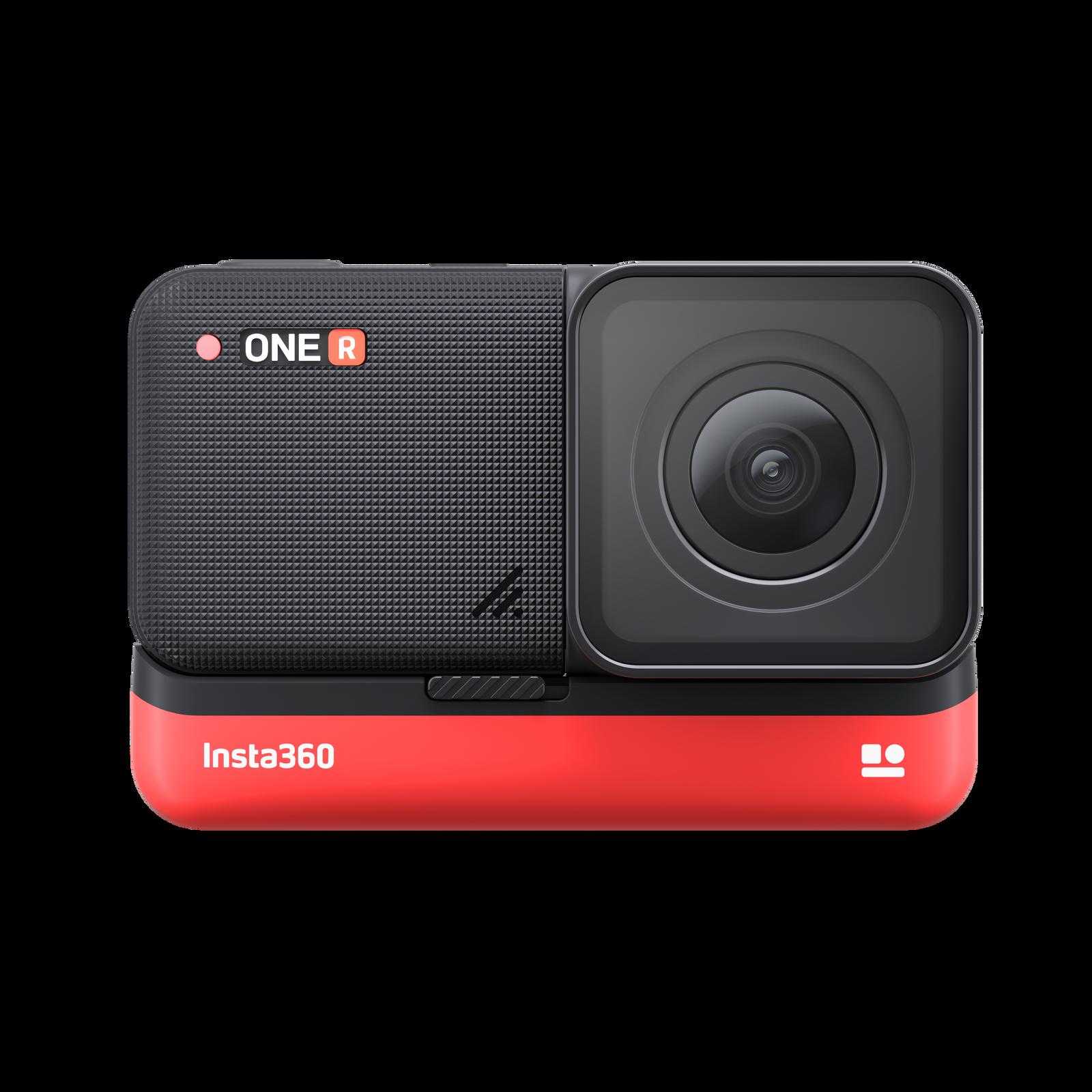 Insta360-ONE R - 4K camera mounted