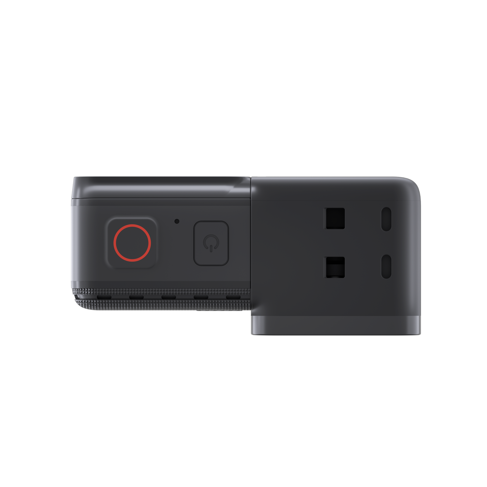 Insta360-ONE R - 4K camera mounted - top view