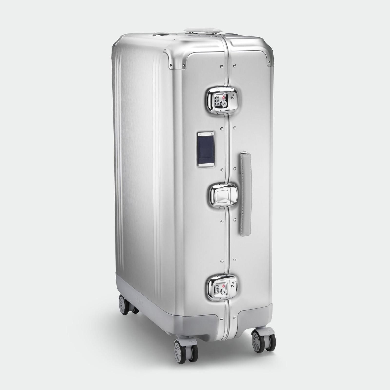 Pursuit - Aluminium Large Travel Case (Silver)