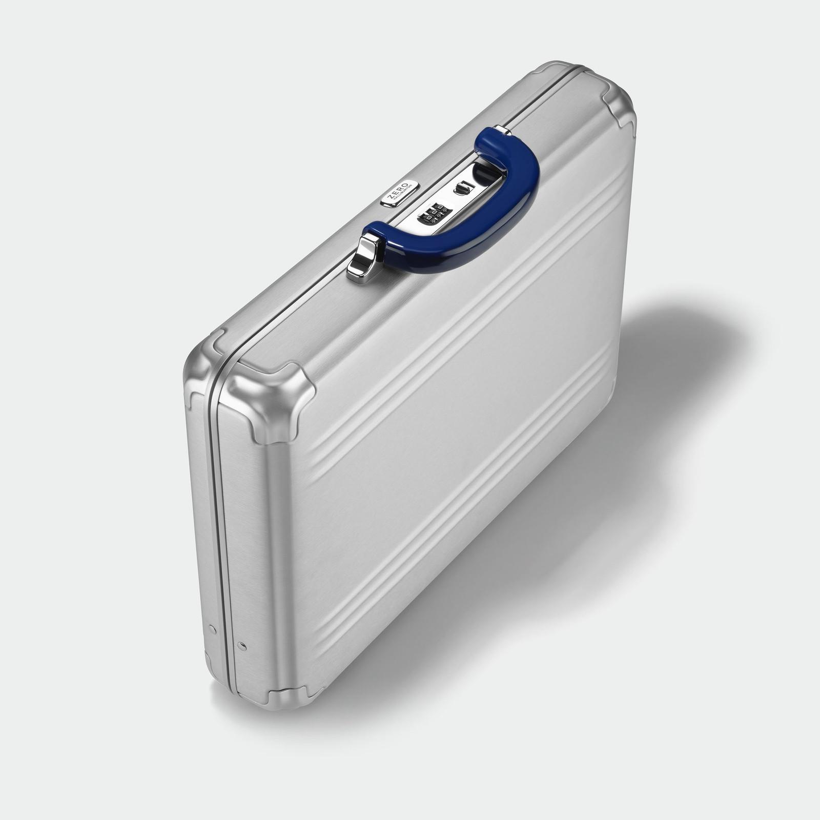 Zero Halliburton Zero Halliburton - Pursuit - Medium Attaché Case - Silver Aluminium