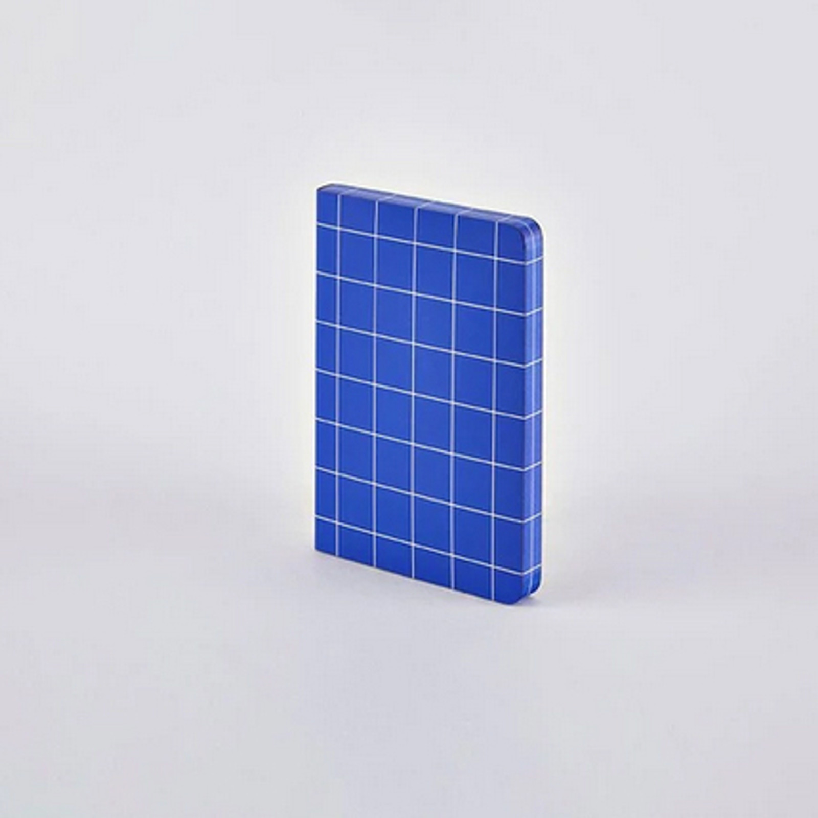 Break The Grid Blue A6 Grid Notebook