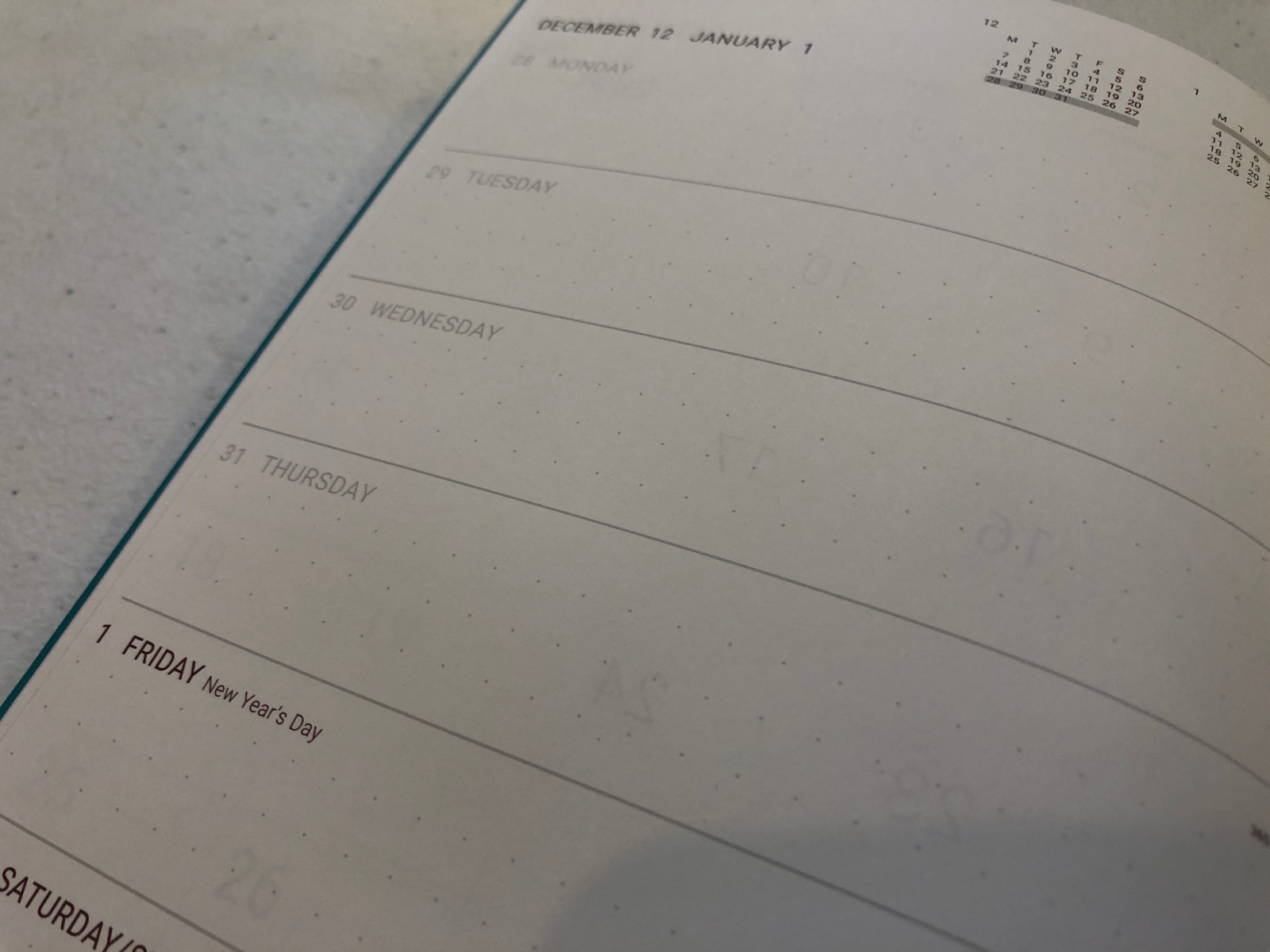 Memmo 2021 Diary - Metro *LIMITED EDITION*