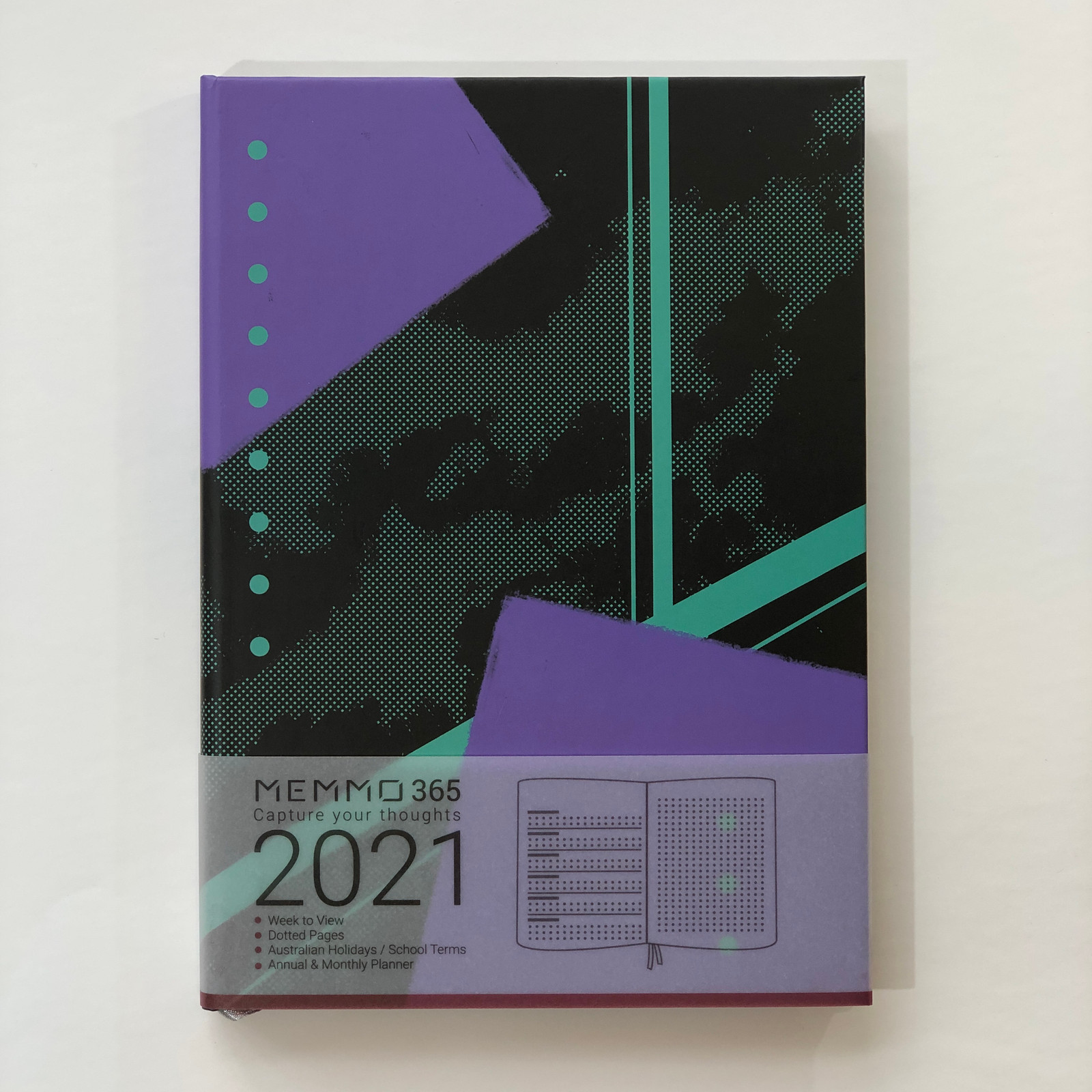 Memmo 2021 Diary - Midnight *LIMITED EDITION*