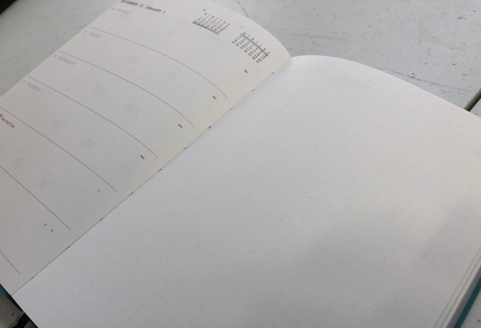 Memmo 2021 Diary - Wavy Lines *LIMITED EDITION*