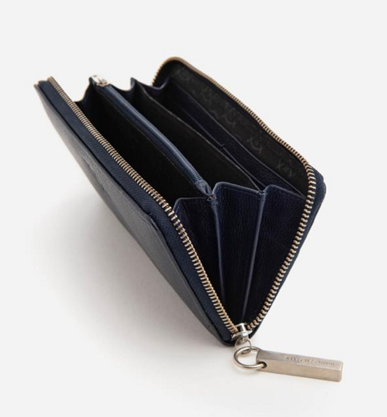 Christina RFID Leather Wallet Ocean