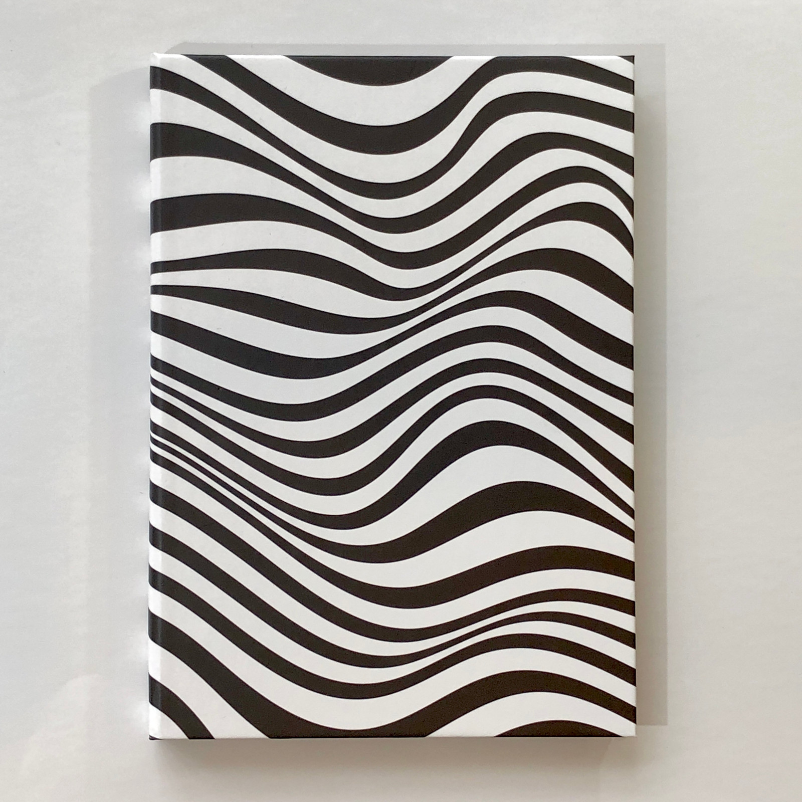 Memmo Lined Notebook - Wavy Lines