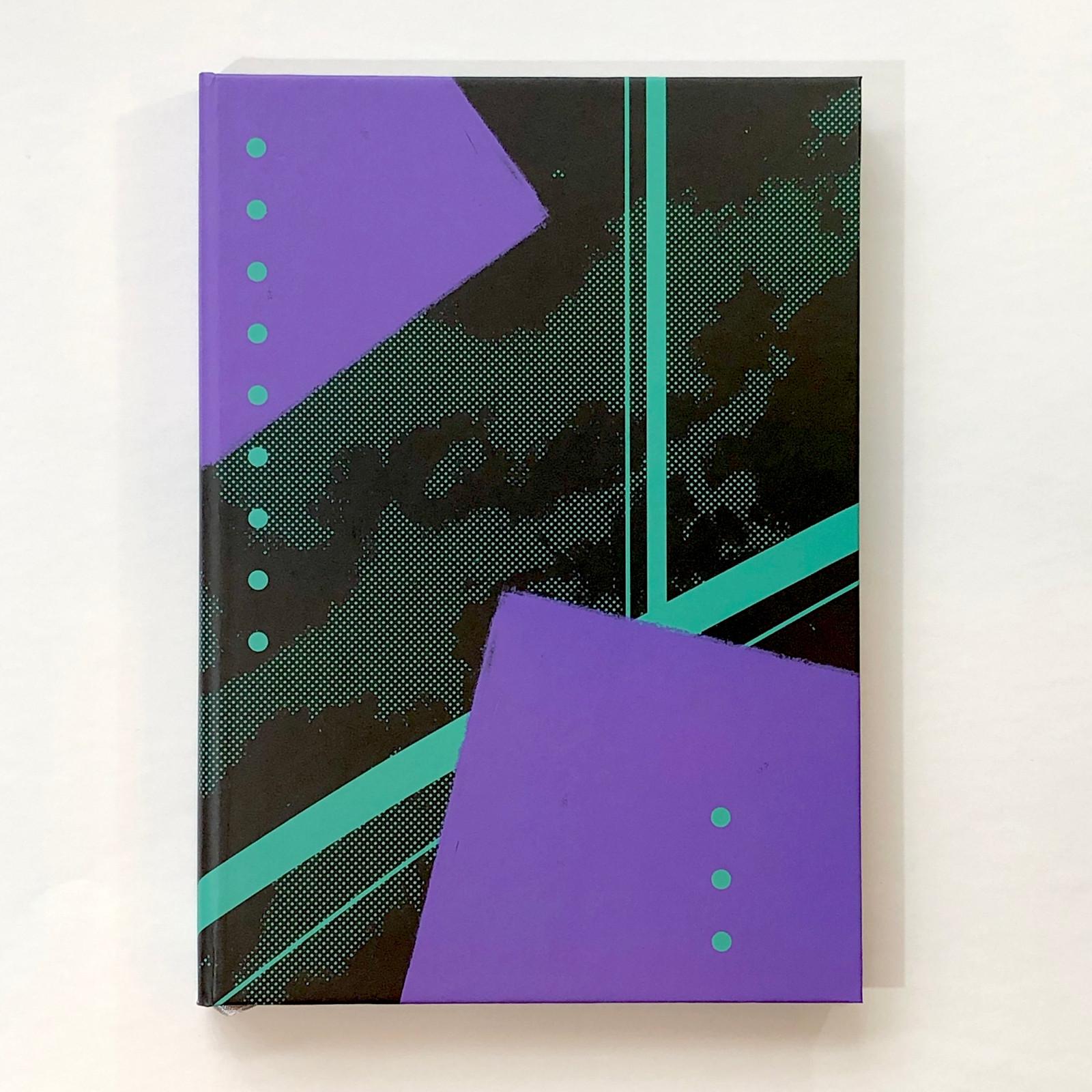 Memmo Lined Notebook - Geometric
