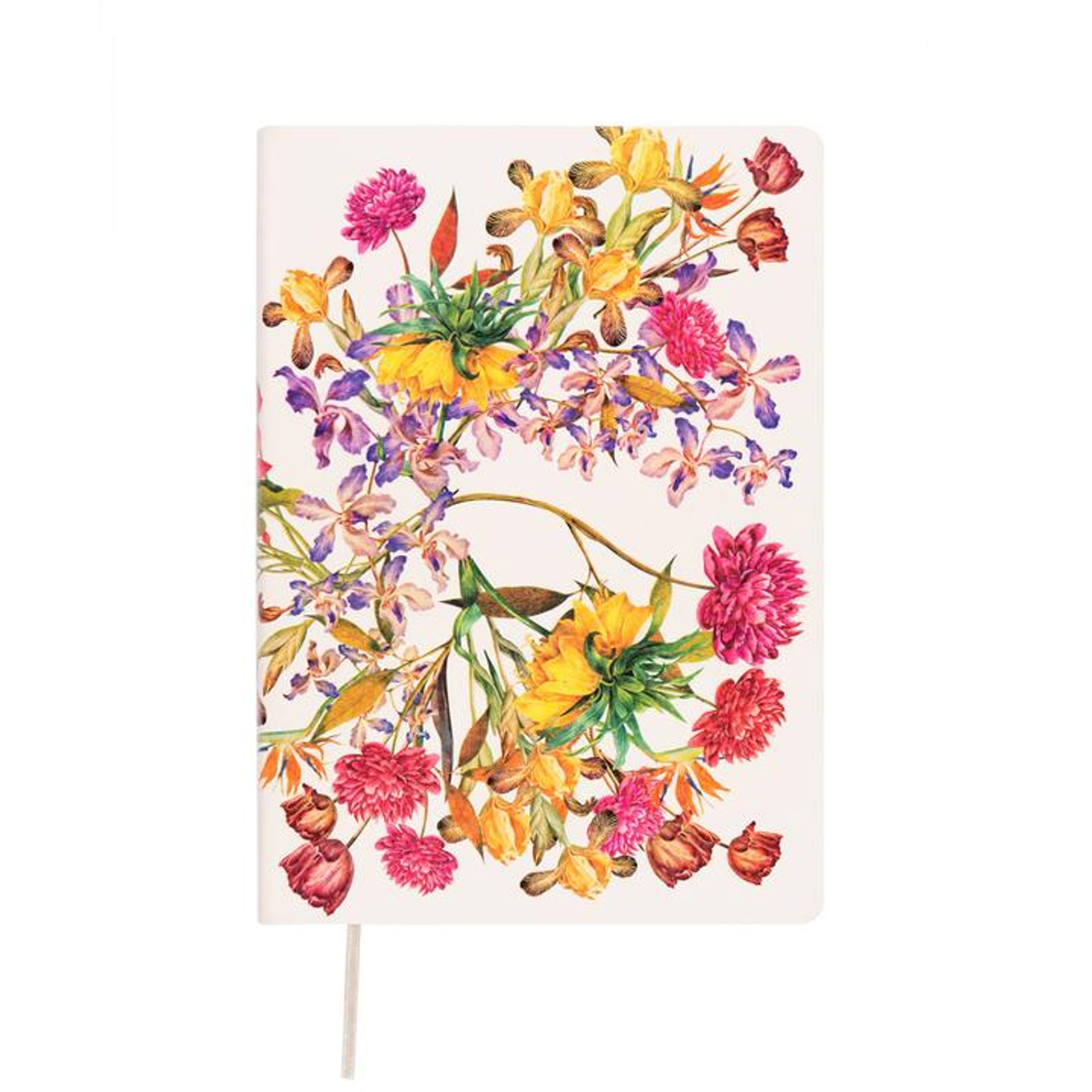 Memmo Luxe Lined  Notebook A5 - Florals