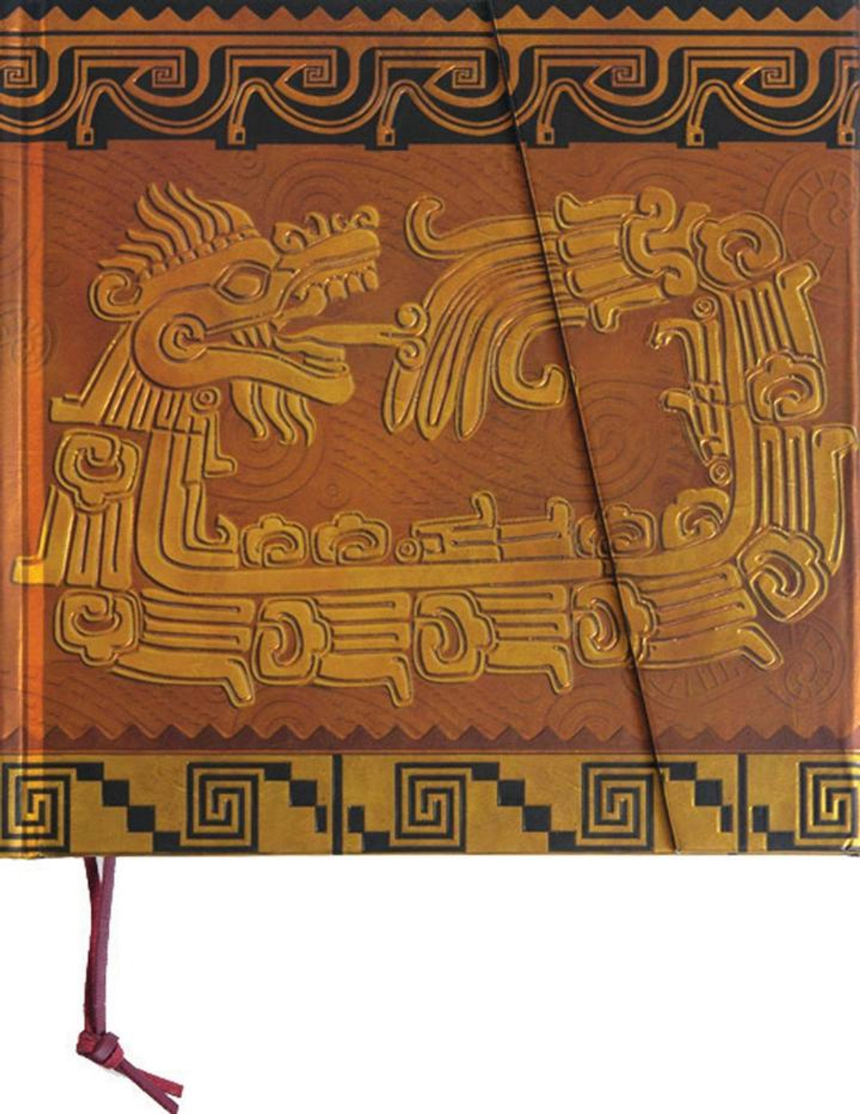Precolombina Cultura Azteca Dragon Lined Notebook