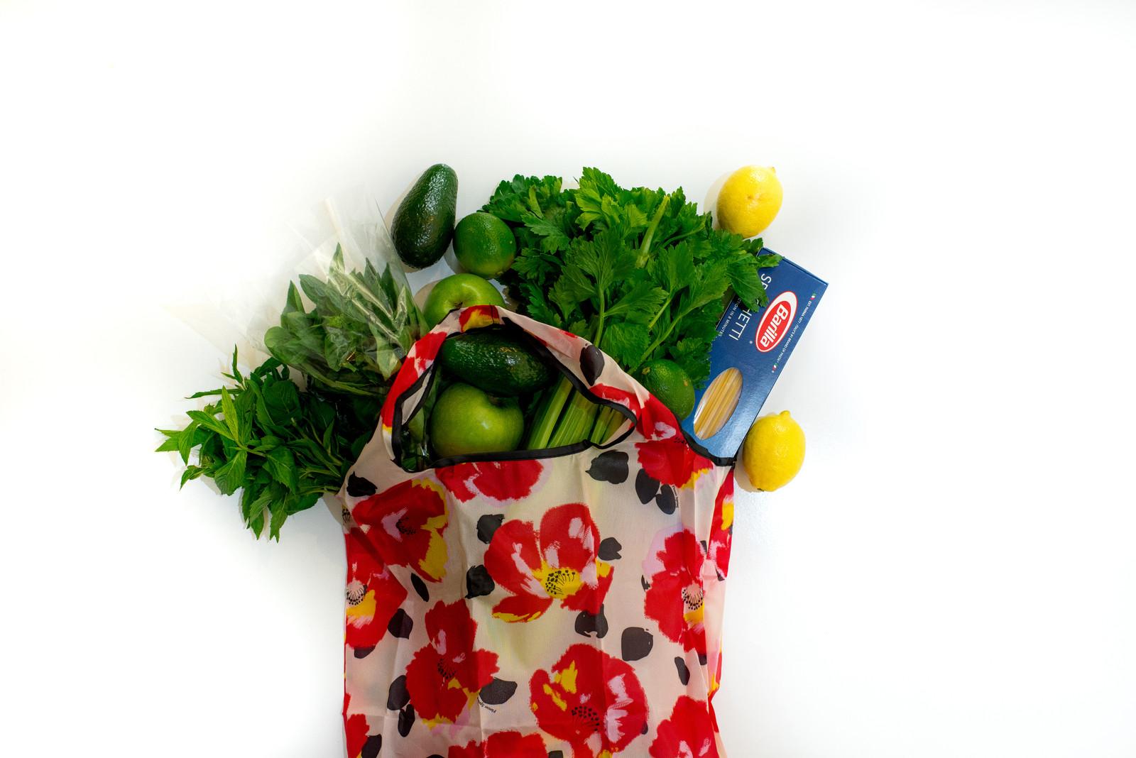 Foldable Midi Shopper (Reusable Bag) -  Love