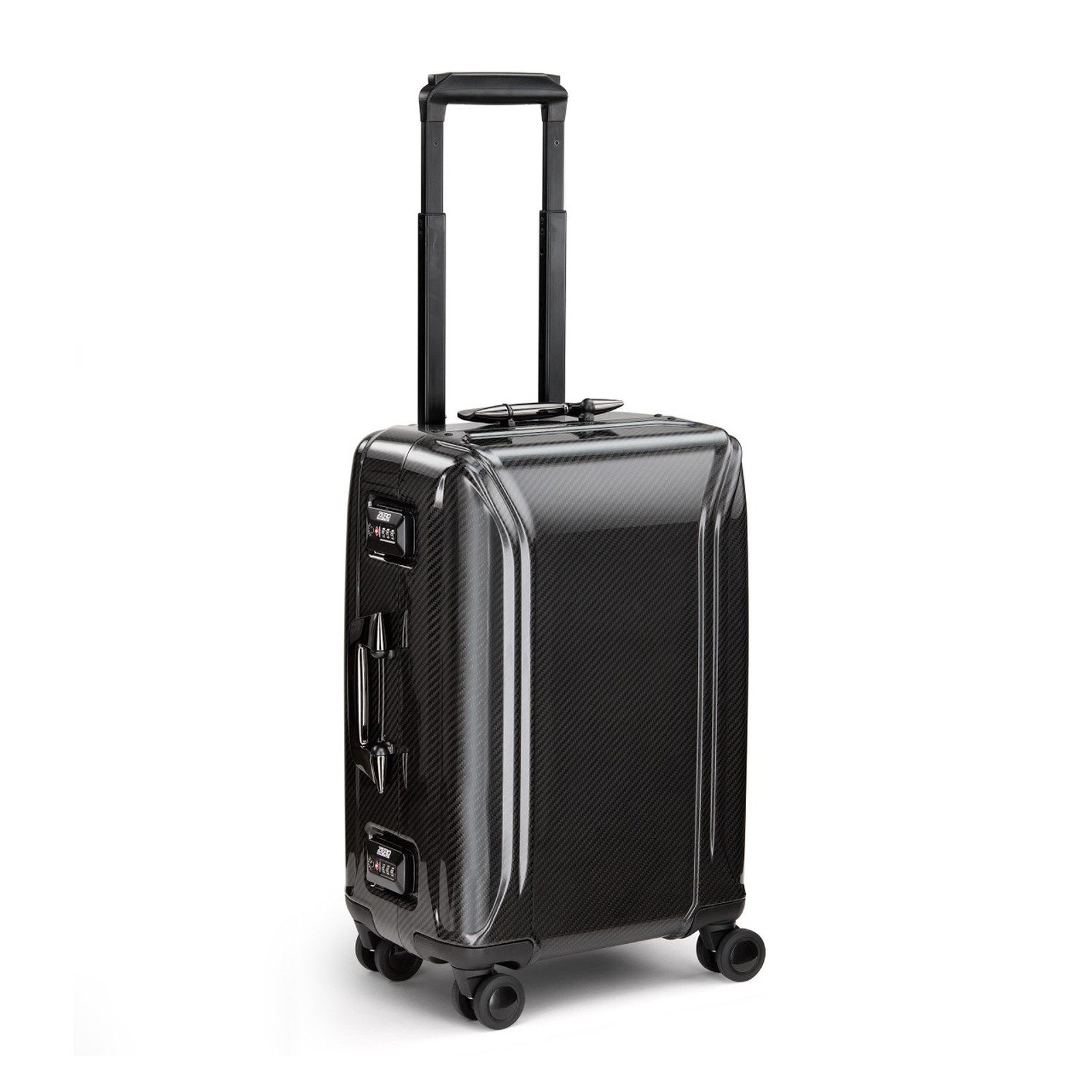 "Zero Halliburton 21"" Carbon Fibre Carry On - Part of the NEW Classic II Collection"