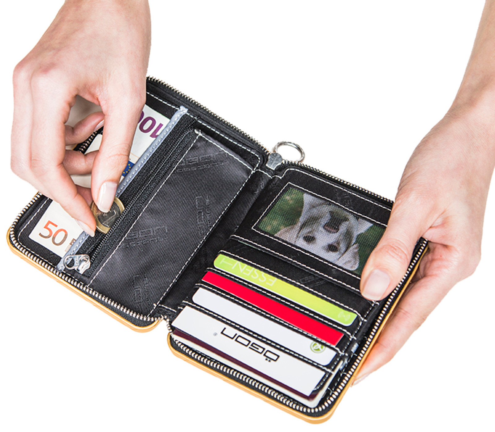 Passport Wallet - Platinum