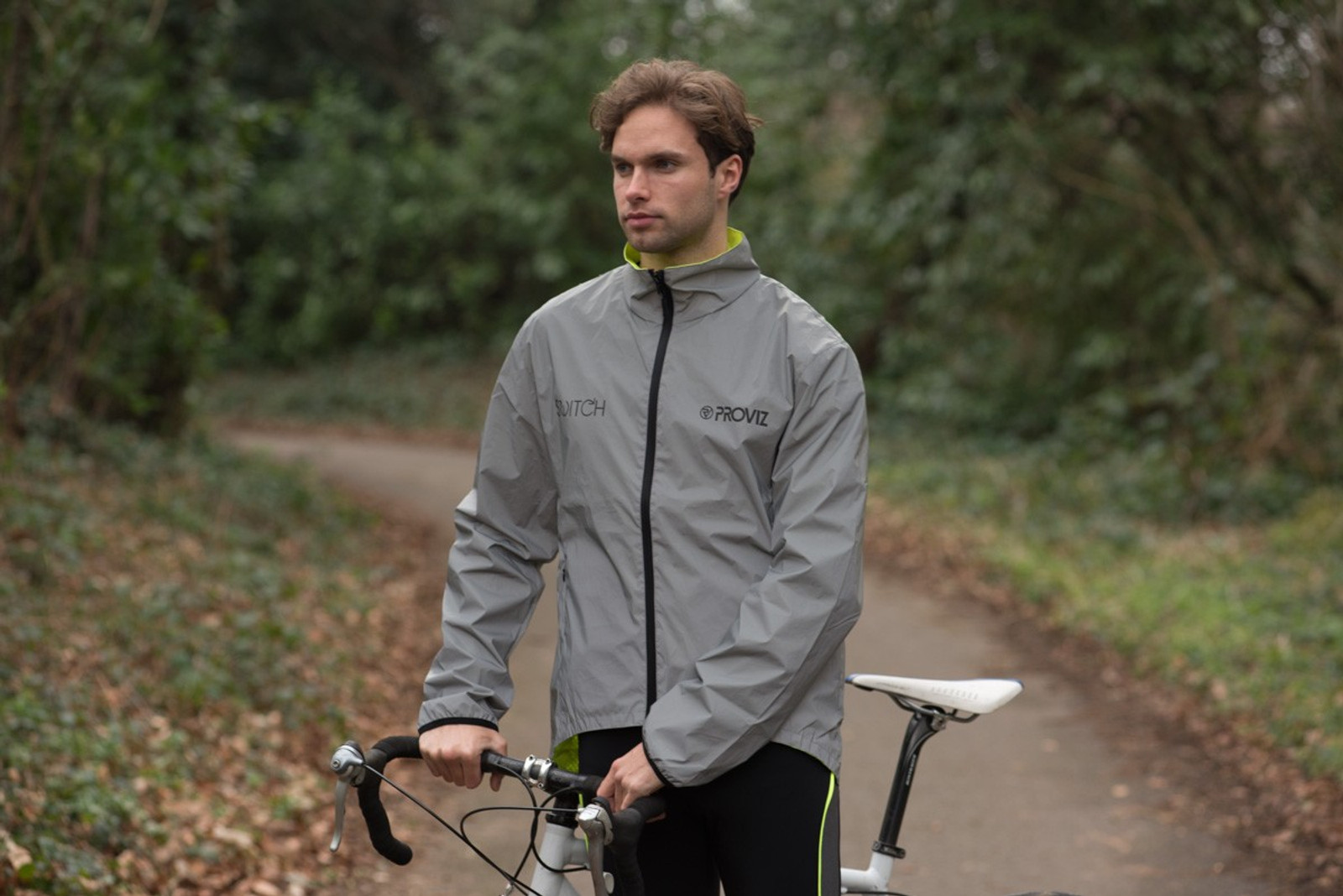 Proviz Switch (Male) - high visibility, reversible cycling jacket