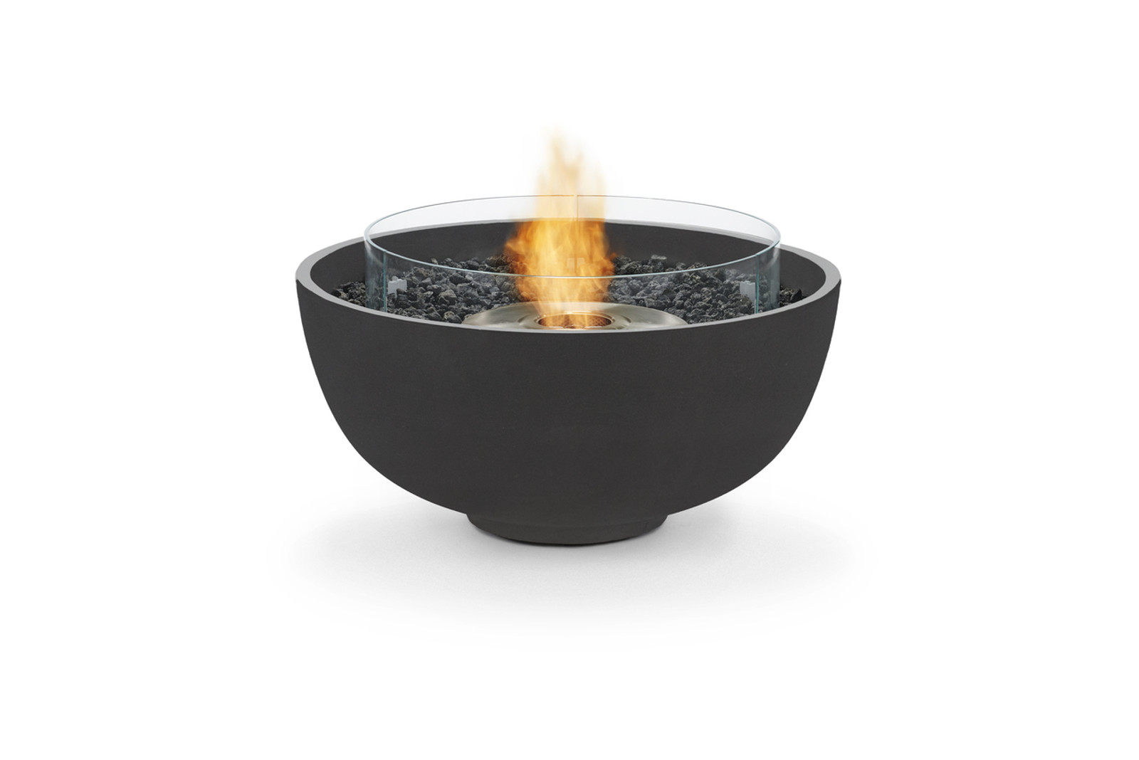 Compatible Fire Screen now sits within the fire recess, not on top