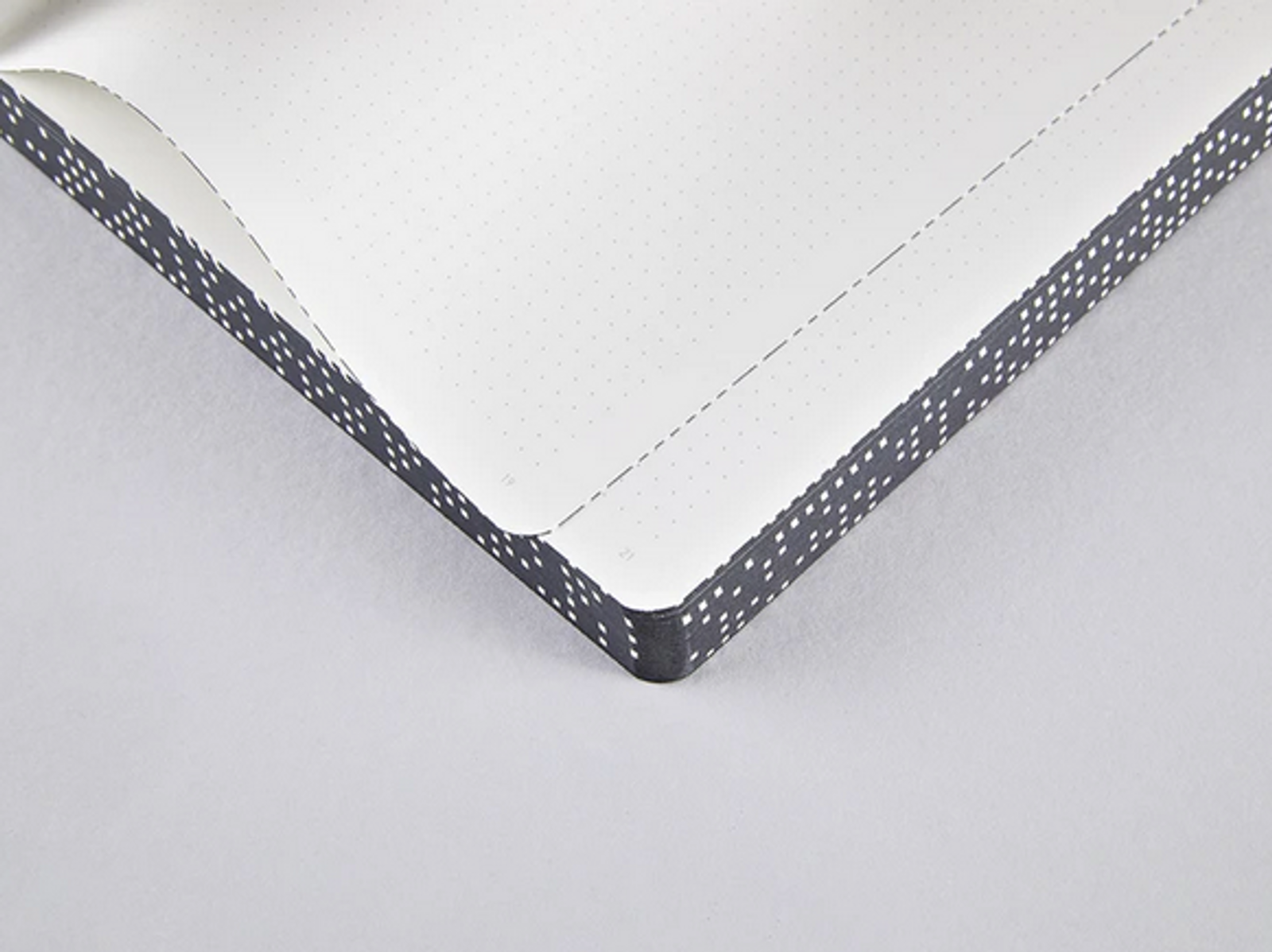 Graphic - Analog Dotted Notebook