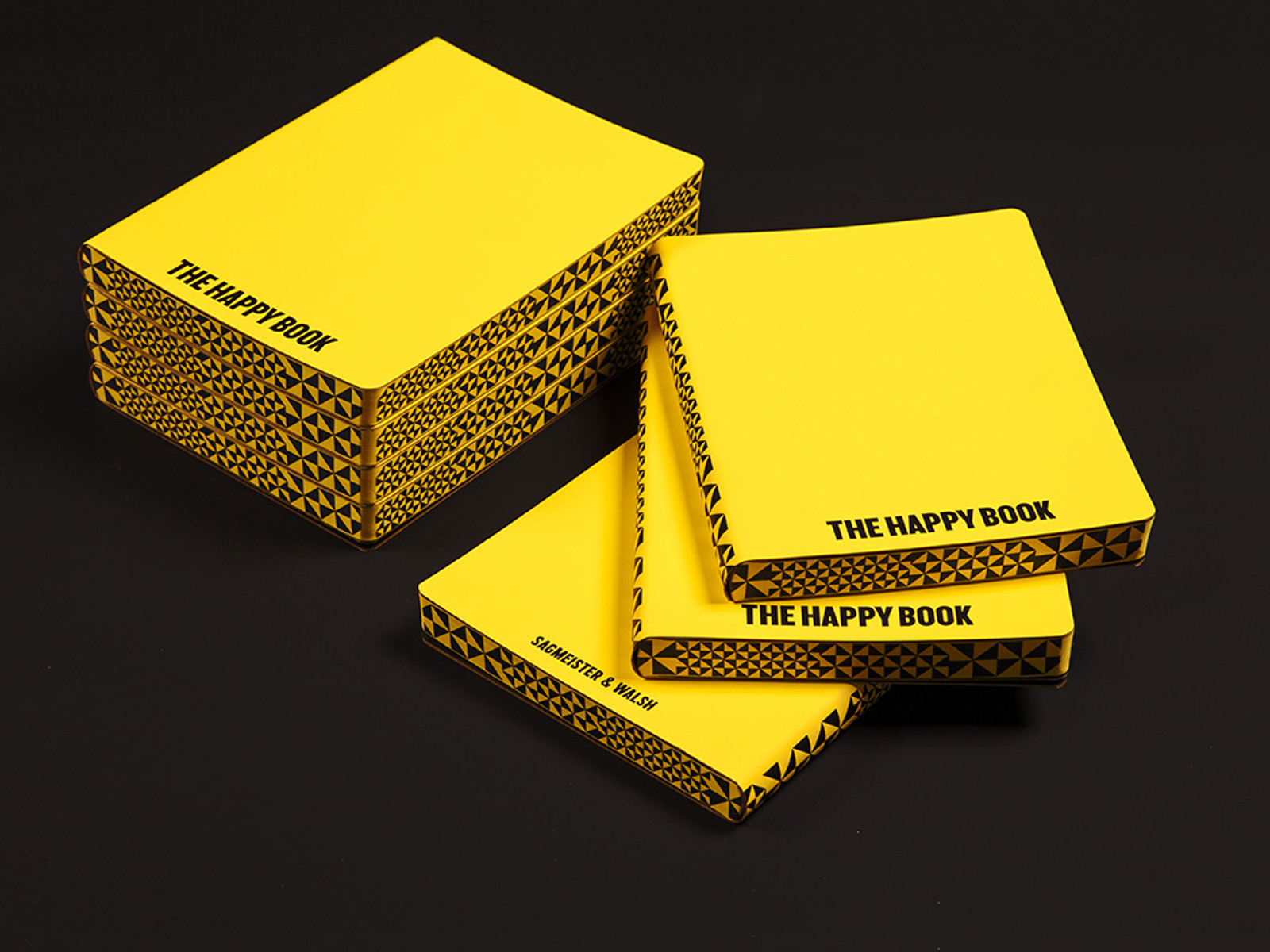 The Happy Book By Segmeister & Walsh A5 Notebook