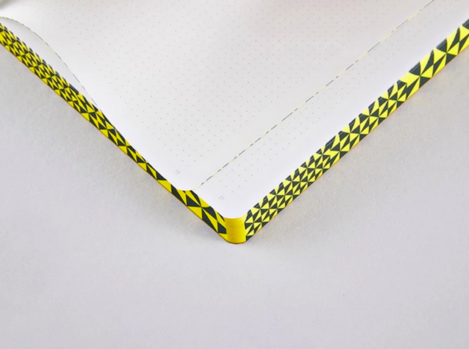 The Happy Book By Segmeister & Walsh A5 Dotted Notebook