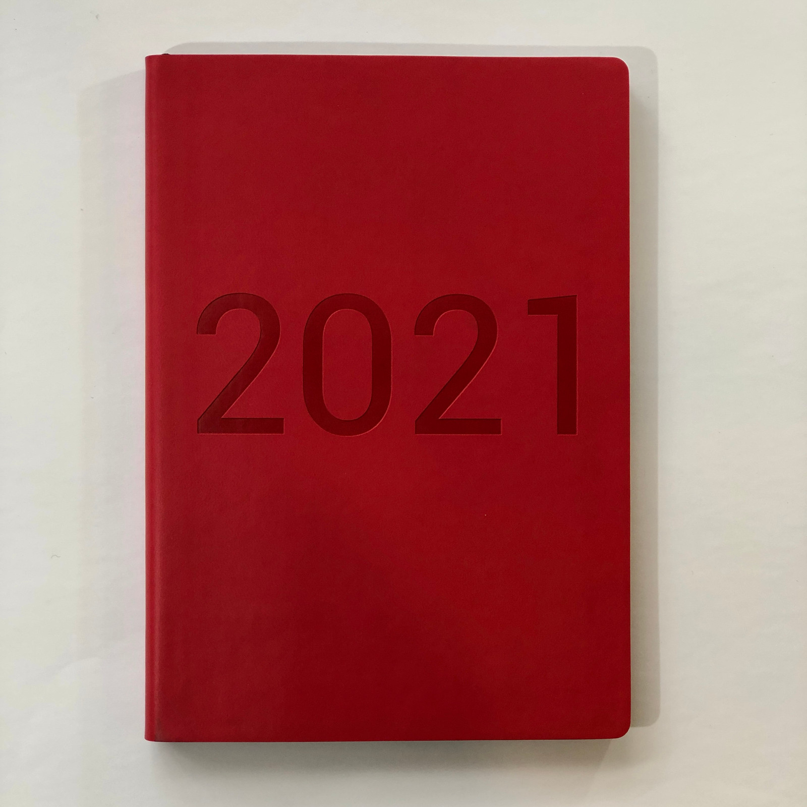 Memmo 2021 Diary - Rouge