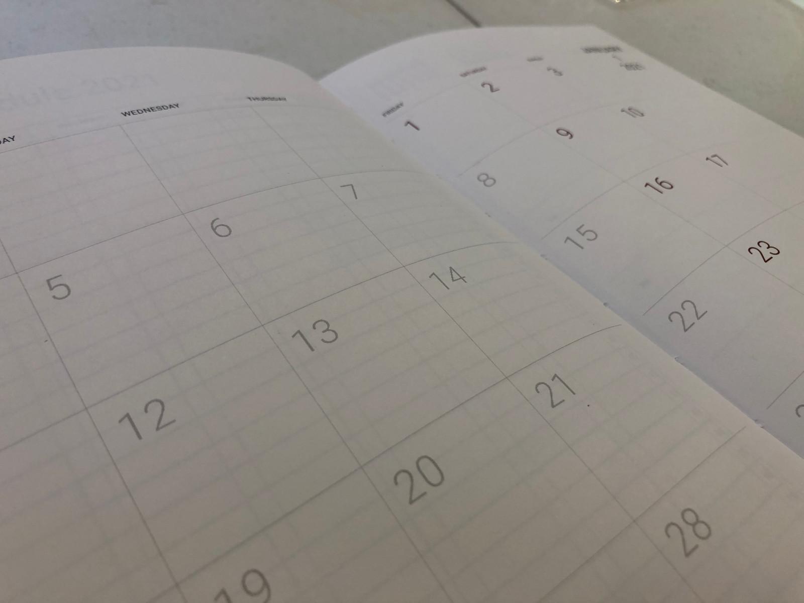 Memmo 2021 Diary - Midnight