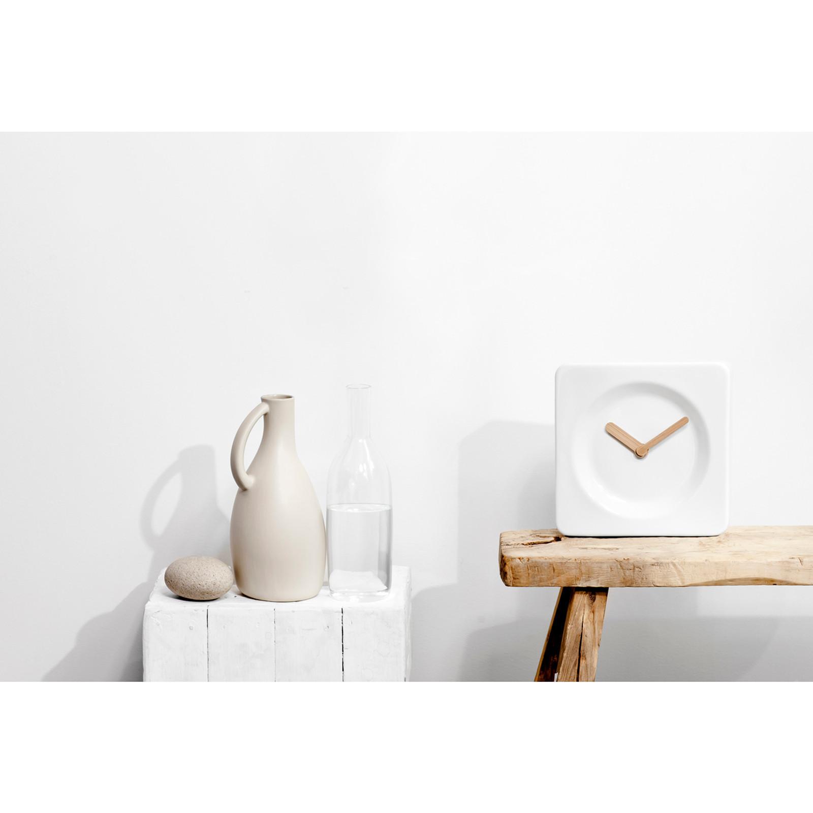 Tile 25cm Ceramic Clock