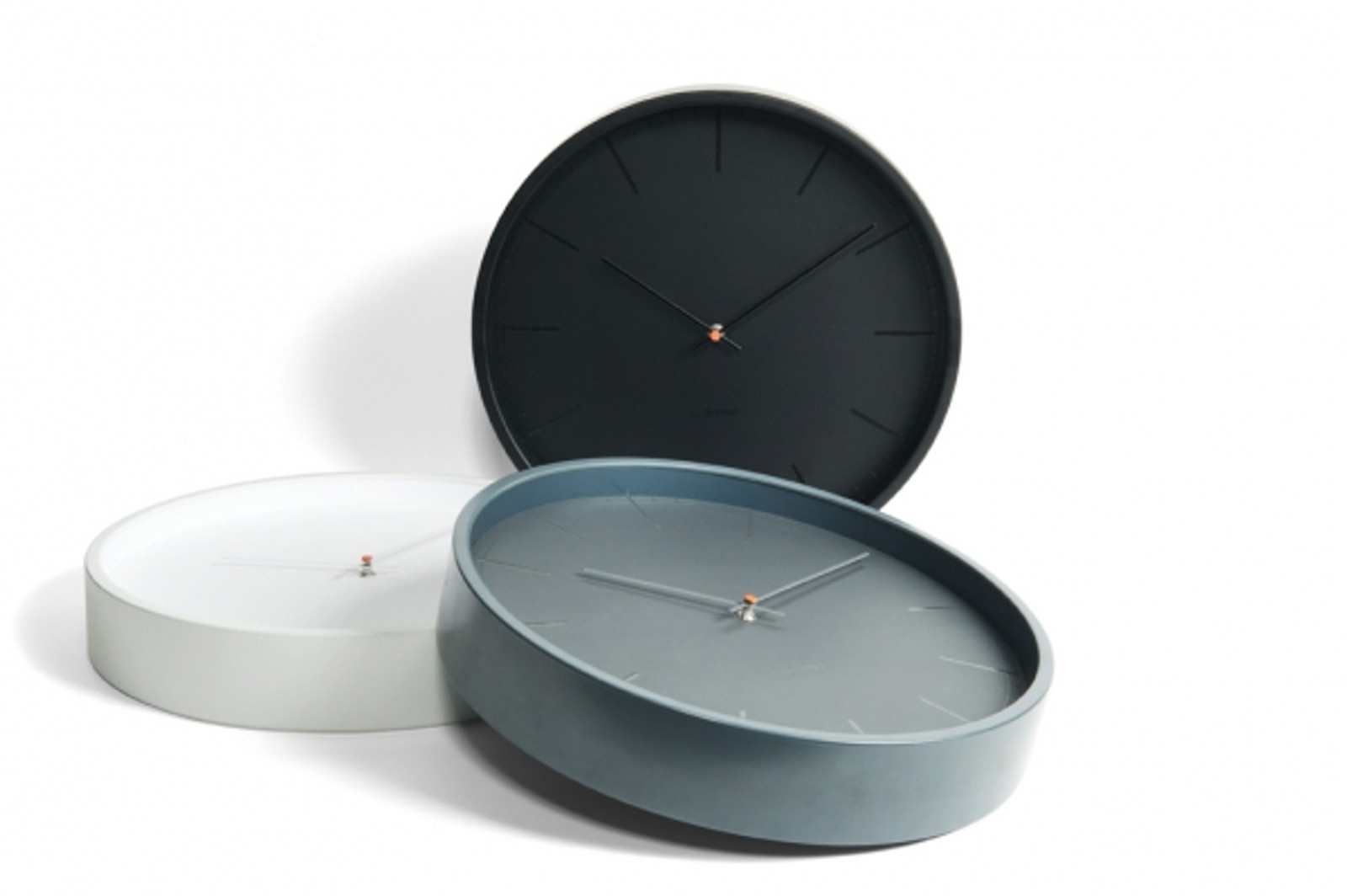 Tone 35cm Wall Clock - Grey