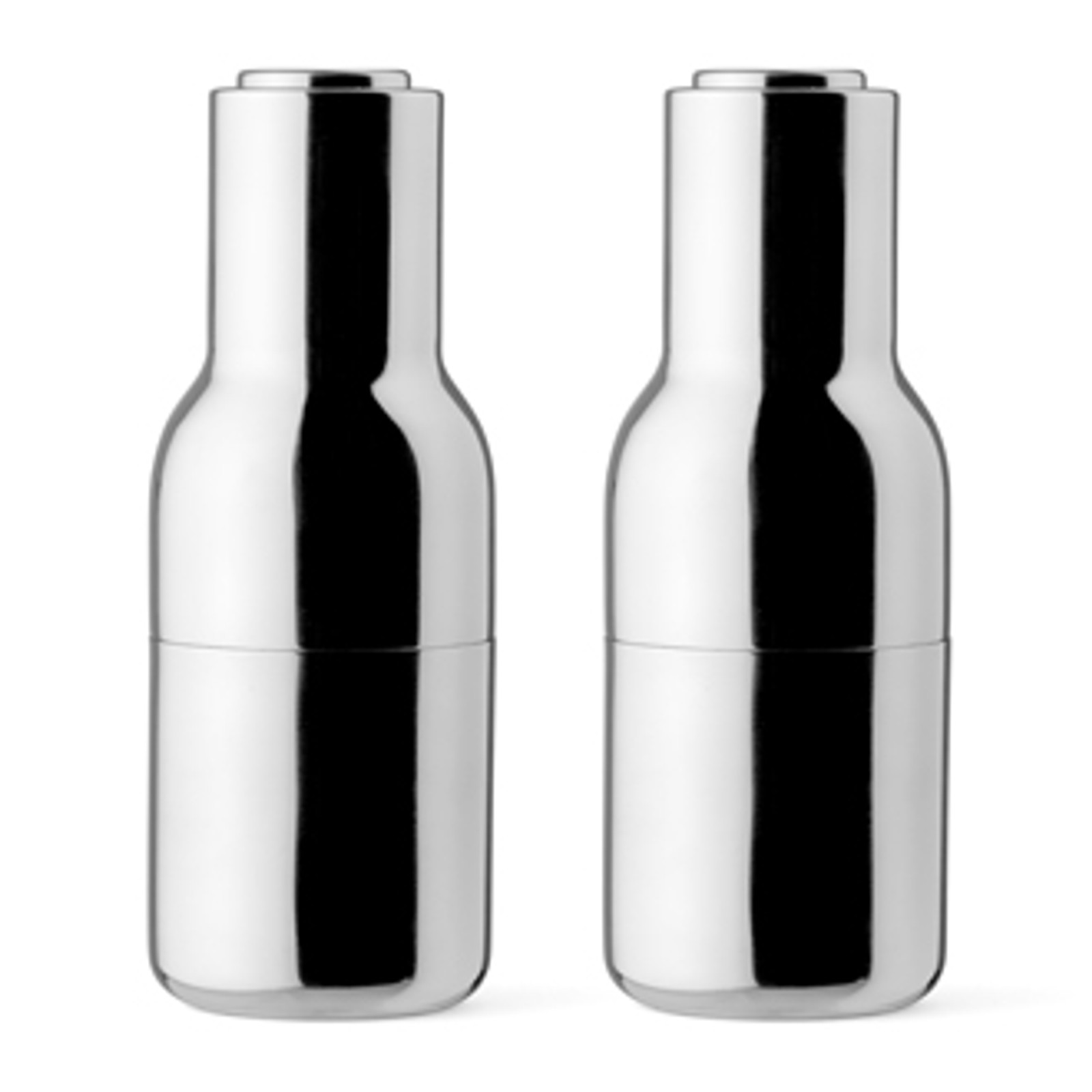 New Norm Bottle Grinder set - Mirror Steel