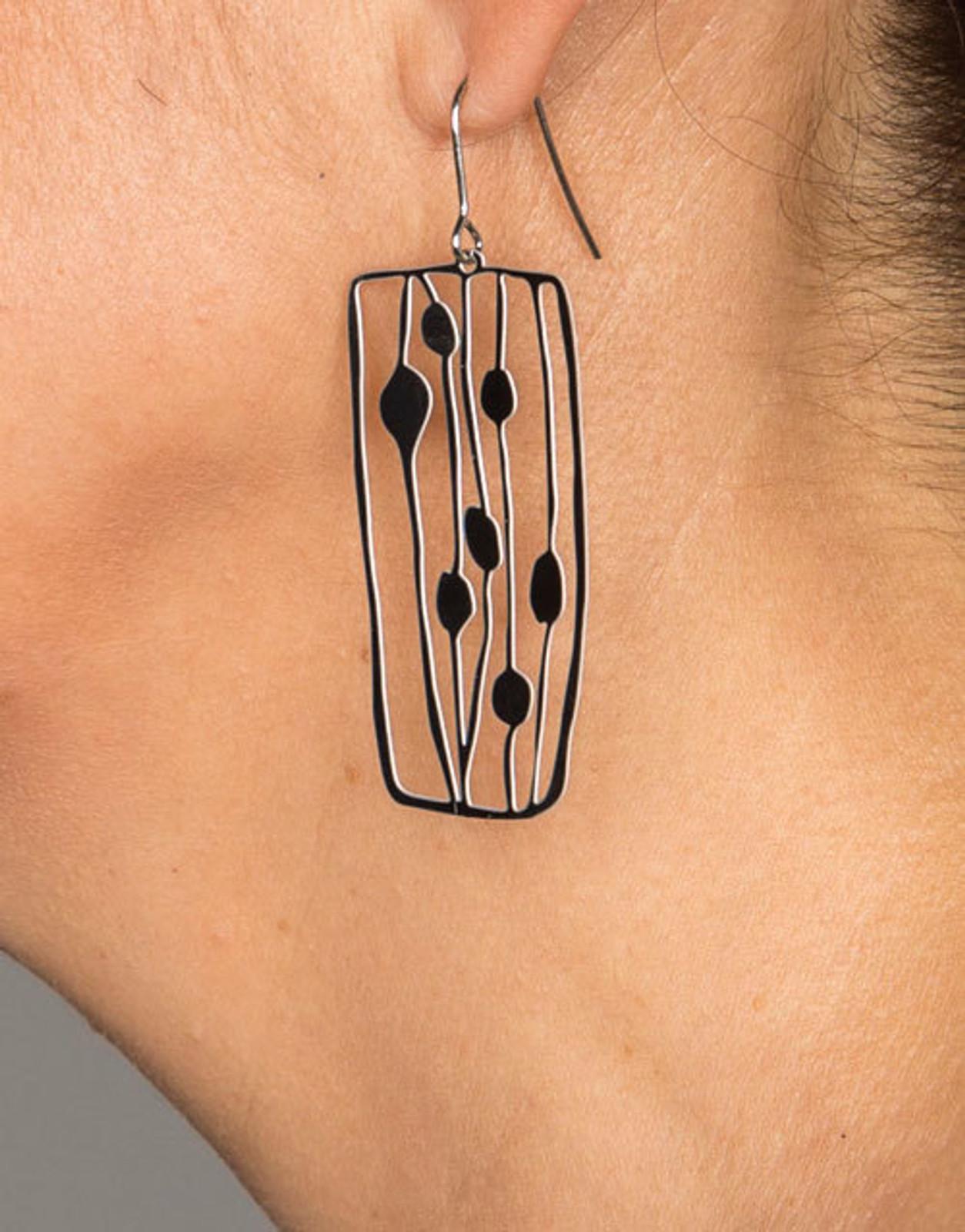 Milkweed Earrings