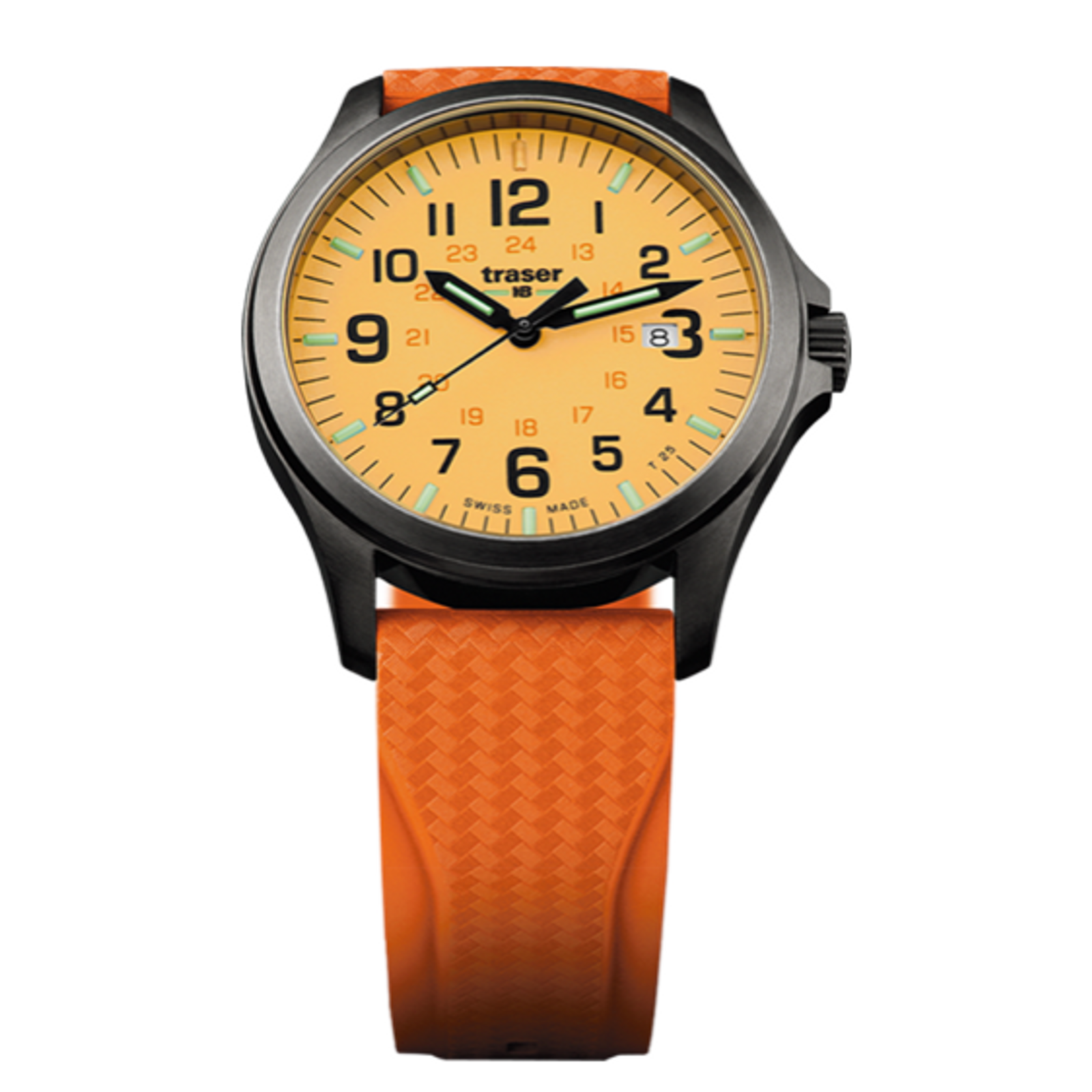 P67 Officer Pro GunMetal Orange