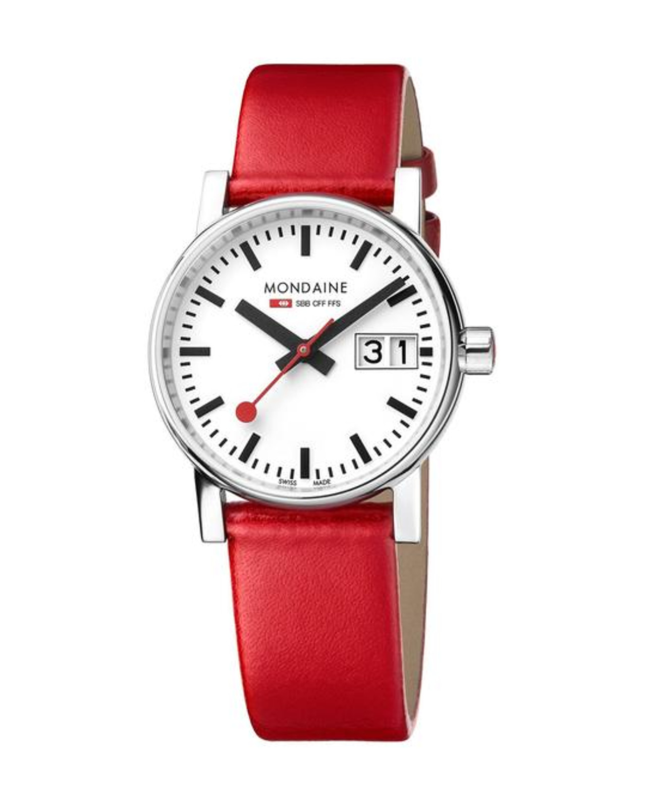 EVO 2 Big Date 30mm - Red Strap