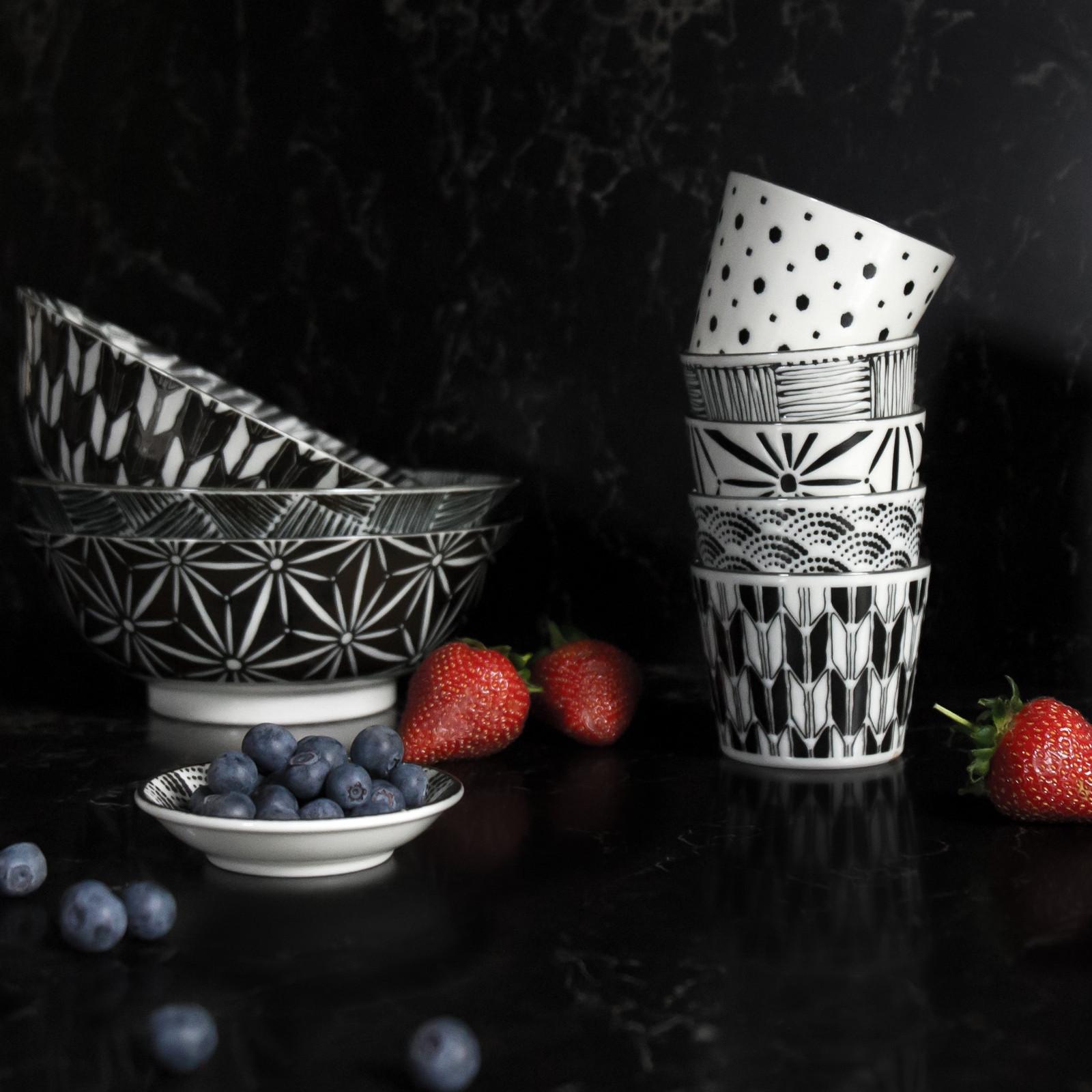 Komon 19.5cm Coupe Soup Bowl Set of 5