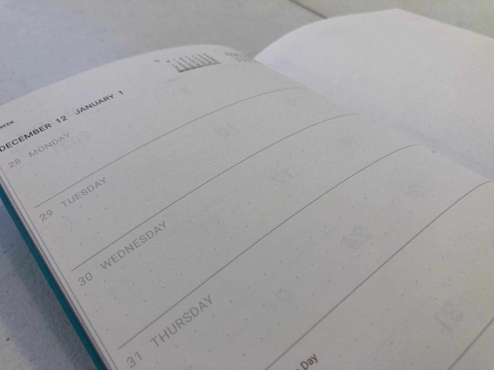 Memmo 2021 Diary - Tiffany Blue