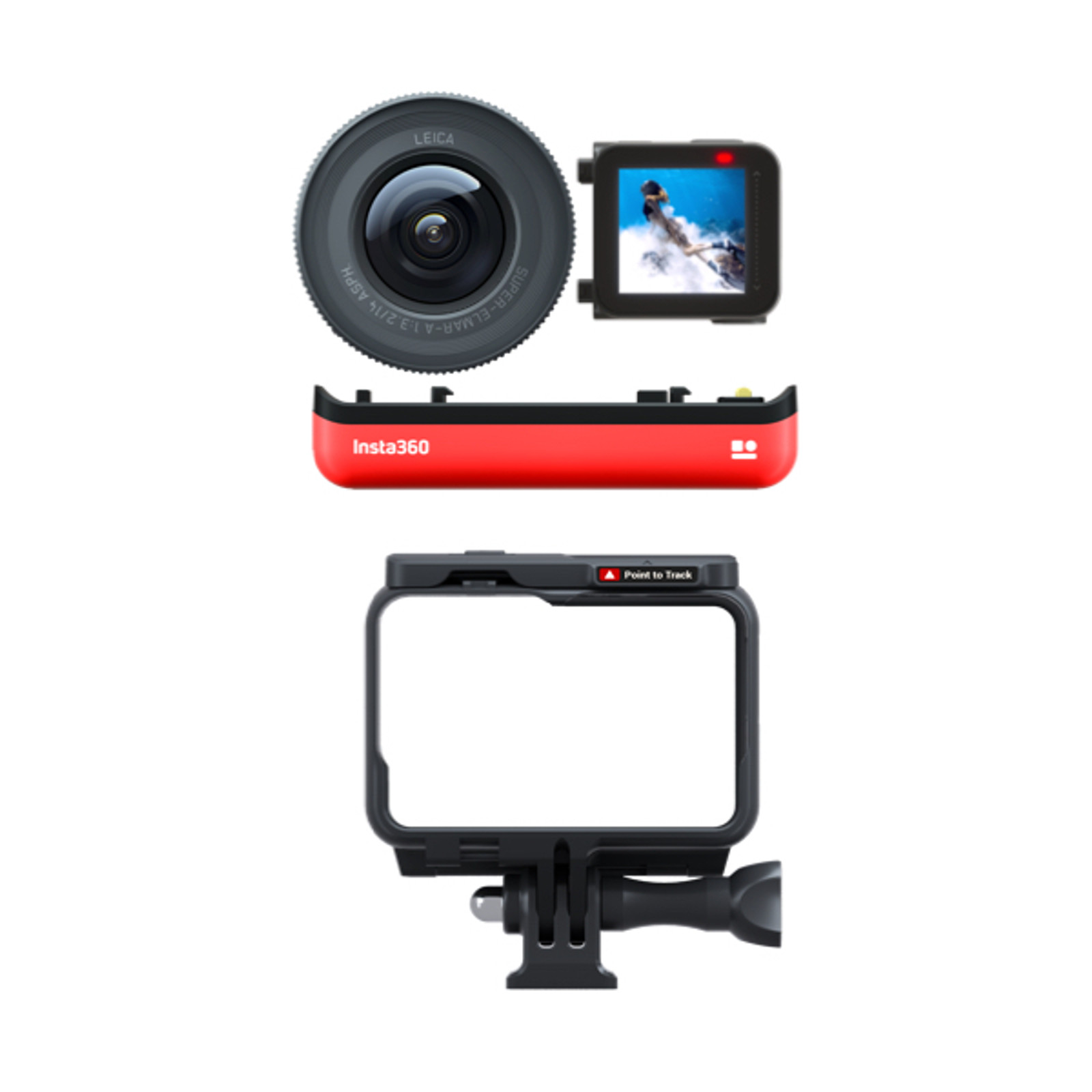 Insta360 ONE R - 1 inch (Leica) Edition - Components