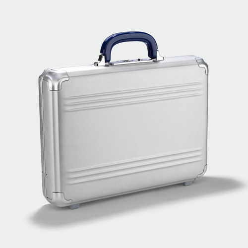 Zero Halliburton Zero Halliburton - Pursuit - Medium Attaché Case - Silver Aluminium
