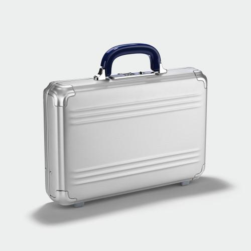 Zero Halliburton Pursuit - Small Attaché Case - Silver
