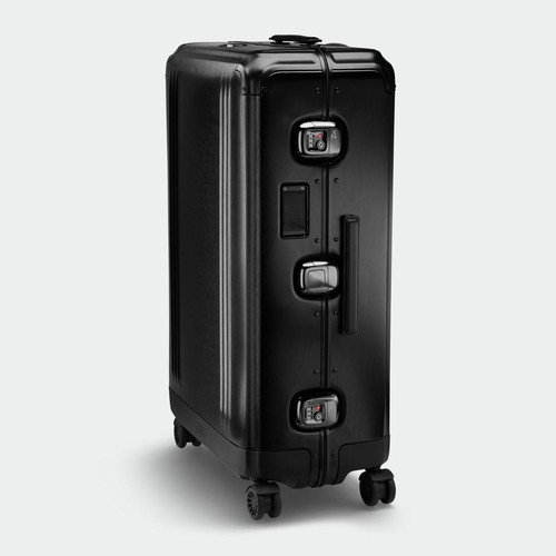 Pursuit - Aluminium Large Travel Case (Black)