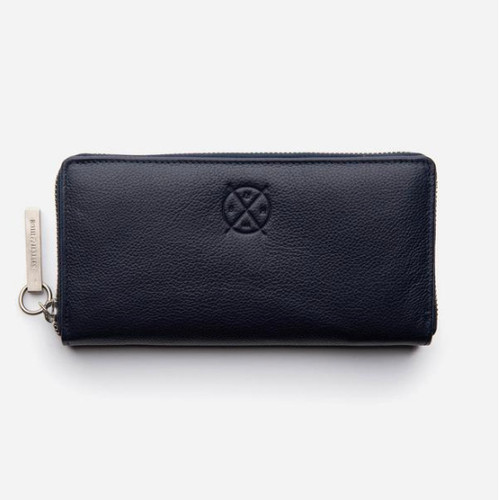 Christina RFID Leather Wallet Ocean