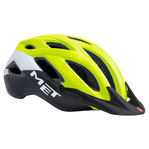Active AS Crossover Yellow Helmet (M)