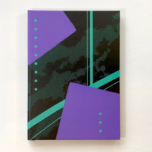 Memmo Lined Notebook - Geometric