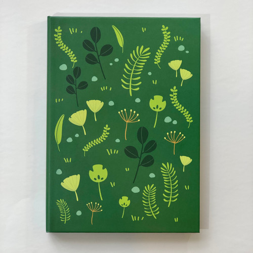 Memmo Lined Notebook - Forest Floor