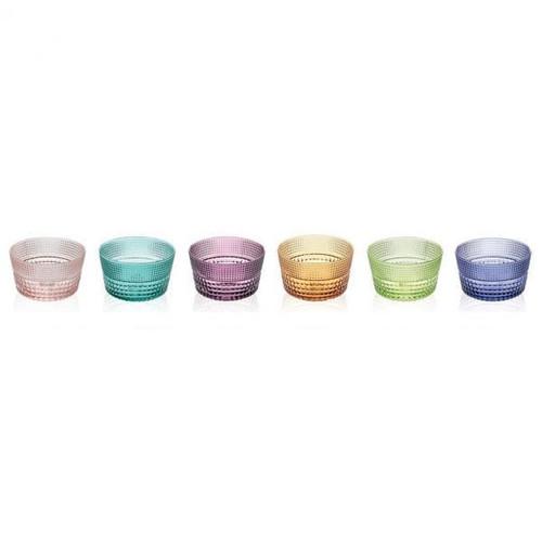 Speedy Bowls (Set of 6) Assorted Colours