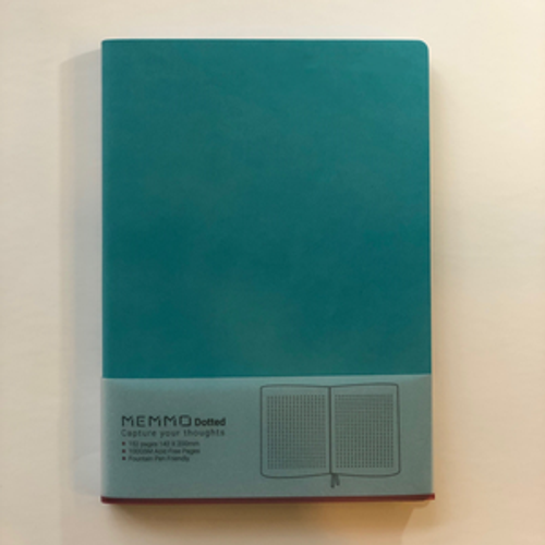 Memmo Dotted Notebook A5 - Tiffany