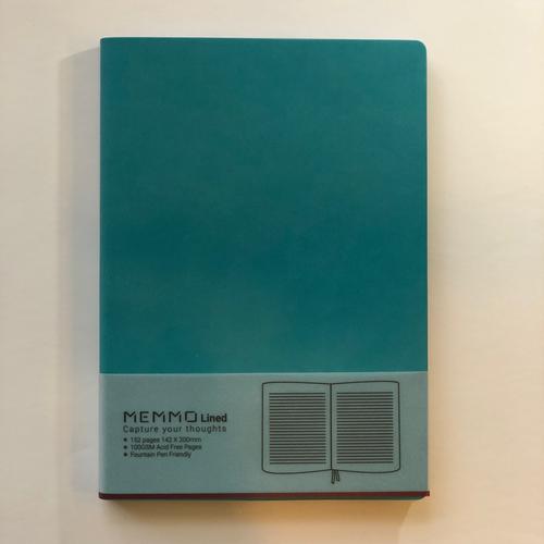 Memmo Lined Notebook A5 - Tiffany