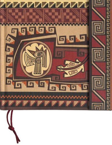Precolombina Cultura Inca Lined Notebook