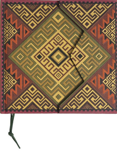 Precolombina Cultura Mapuche Lined Notebook